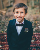 ring bearer boutonnieres amber phinisee