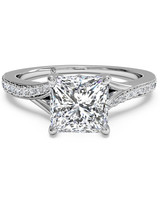 Ritani Princess-Cut Engagement Ring