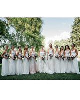 sara sam italy wedding bridesmaids