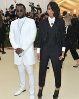 "Sean ""Diddy"" Combs and Cassie Ventura 2018 Met Gala"