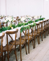shakira travis wedding reception tables