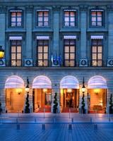 exterior ritz hotel