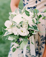 stephanie philip wedding bouquet