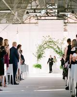 wedding ceremony processional walk in
