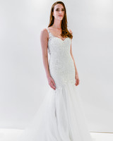 watters wtoo trumpet embellished sleeveless wedding dress spring 2018