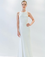 Watters Simple Sheath Wedding Dress Spring 2018