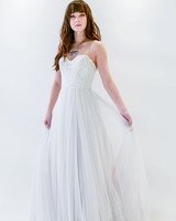 Willowby by Watters strapless a-line wedding dress spring 2018
