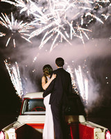 wedding fireworks sparkler perfect view