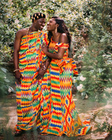 ghana bride and groom