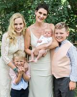 allison aimee wedding brides with children