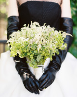 white wildflower bouquet