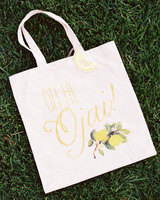 funny welcome tote