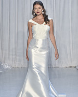 anne barge satin trumpet wedding dress fall 2018