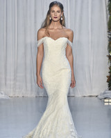 anne barge off-the-shoulder mermaid wedding dress fall 2018