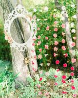 party decor flower garlands