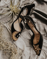 Celestial Wedding Shoes