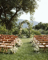 eliza peter wedding ceremony site