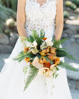 emily adhir wedding bouquet