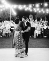 emily adhir wedding dancing mother son dance