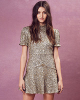 "for love & lemons ""eloise"" sequin dress"