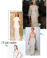 Fall 2017 Wedding Dress Trend: Cutouts