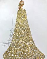 francesca miranda wedding dress sketch