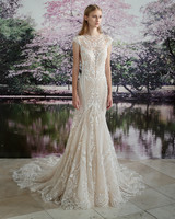Gala by Galia Lahav high neck sheath wedding dress fall 2019