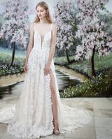 Gala by Galia Lahav spaghetti strap wedding dress fall 2019