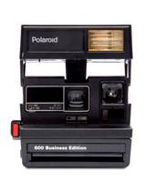 black polaroid camera