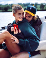 hailey baldwin and justin bieber engagement ring