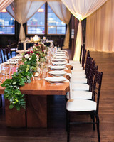 head table long tables