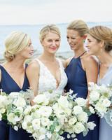 kaitlin dan wedding sisters