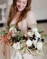 katie matthew ohio wedding bouquet