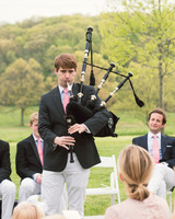 katy andrew wedding bagpiper