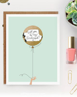 maid of honor proposal scratch off card