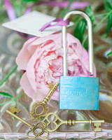 margo and me bridal shower love locks