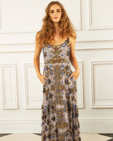 maria korovilas wedding dress spring 2017 long spaghetti straps