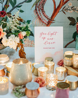 mercury glass wedding ideas luna de mare