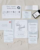 30 Modern Wedding Invitations We Love Martha Stewart Weddings