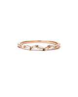odd wedding band suzanne kalan rose gold