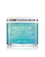 blue marine algae face mask