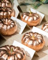 pumpkin escort cards
