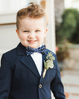 ring bearer boutonnieres ashley caroline