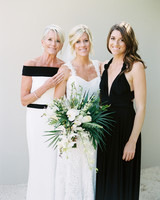 sara danny mexico wedding mom sister