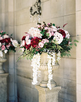 shanice & stephen wedding ceremony flowers