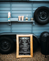 thomas jared wedding blue welcome party truck