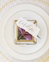 wedding place card bloom box