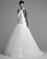 viktor rolf wedding dress fall 2018 halter