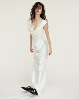 vivienne westwood wedding dress Spring 2019 scoop neck Sheath