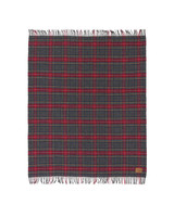 wool anniversary gift red plaid blanket